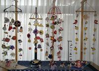 古布リメイク初美四周年記念生徒作品展の様子です