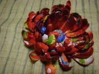 菊花髪飾りとつまみ細工アソート