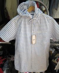 夏のおすすめ|ヒューストンのシャツパーカー|パッチワークのショーツ