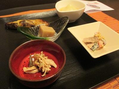 蟹のあんかけ粥膳コース3