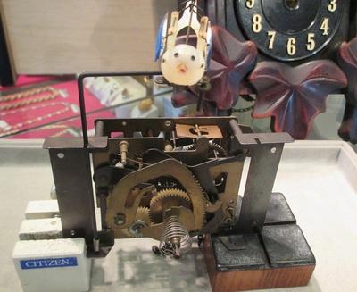 機械式時計の修理ご紹介