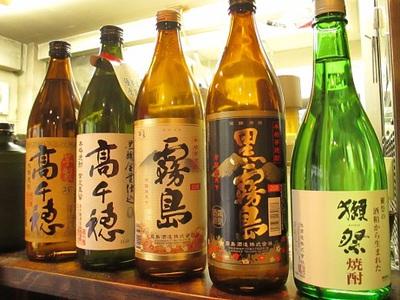 限定プレミア焼酎、日本酒