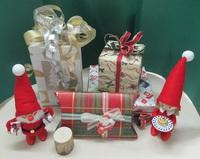クリスマスラッピング|持ち込みラッピングOK