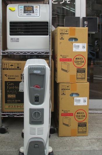 各種暖房器具取り揃えております。