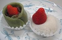 【春のおすすめ苺の和菓子】苺の夢、苺大福|蕨市南町餅菓子