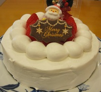【洋菓子 トロンシェ】クリスマスケーキ|蕨市のケーキ屋