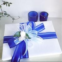 【バレンタイン】ウルトラマリンブルーのリボン|さいたま、蕨、川口