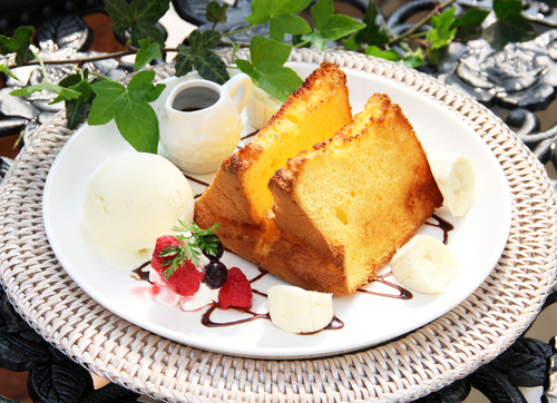 シフォンファザットケーキ