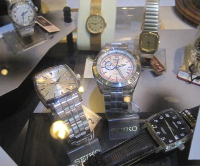 時計展示ケース
