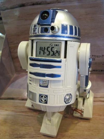 アクション・アラーム・クロックSTARWARS R2-D2|クリスマス♪