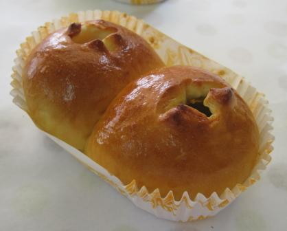 2色あんパン(ゆず&うぐいす)