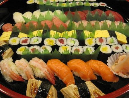 寿司秀の春のおすすめ握り