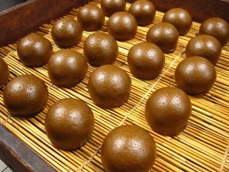 茶饅頭(黒糖味)