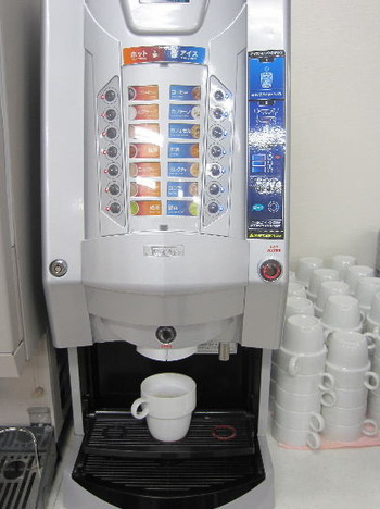 コーヒー、カプチーノ、抹茶など