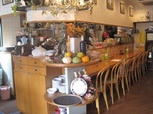 伊厨房トゥルー|イタリアンレストラン店内