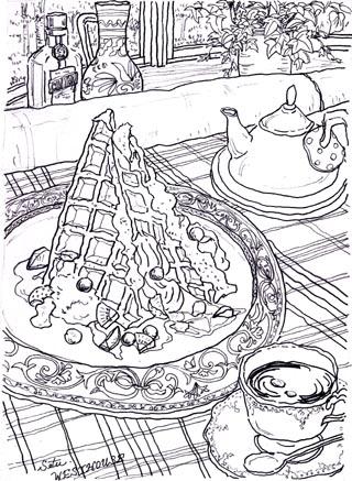 デザートの絵パート2♪
