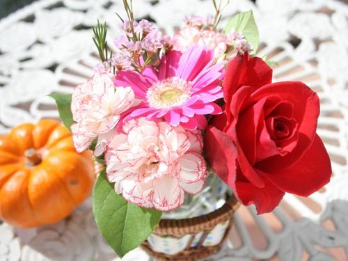 今週卓上花♪