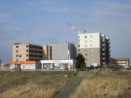 【変遷21】研究学園駅近15建マンション「ヴェルプレジオ」ができる様子!