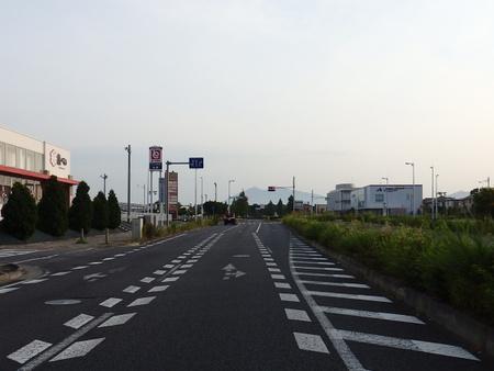 【今昔48】研究学園を貫く幹線道路、魚べい前から望む筑波山!