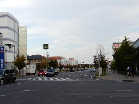 【今昔52】つくば市役所前交差点から東を見た!