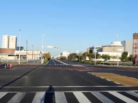 【今昔50】幹線道路が交わる研究学園交差点からとりせん、イーアス方面の眺め!