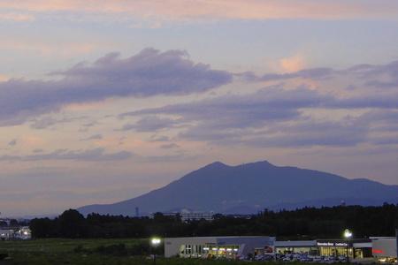 【筑波山03】屋上からの雄大な筑波山の眺め!
