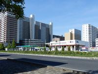 【今昔63】研究学園交差点から研究学園中心部を見た!