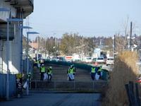 つくば市環境事業協同組合さんが研究学園駅周辺のゴミ拾いをしていた!