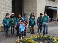 12/9のゴミ拾い大作戦は子供達がたくさん参加した!