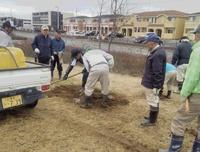 研究学園「千本桜」3/10に植樹を実施した!