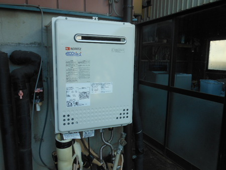 ガス給湯器で住宅エコポイント24000ポイントつきます