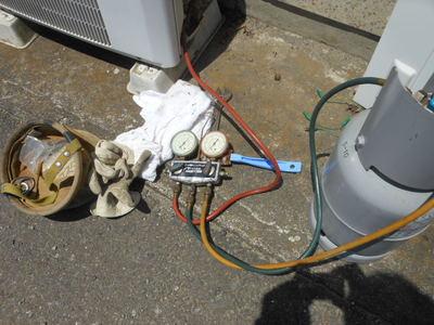 エアコン無料ガス圧点検つくば市限定