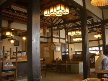 筑波山ふもとの茅さんの蕎麦
